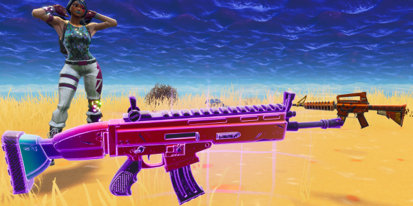 Fortnite Battle Royale Players Can Now Get Custom Weapon Skins