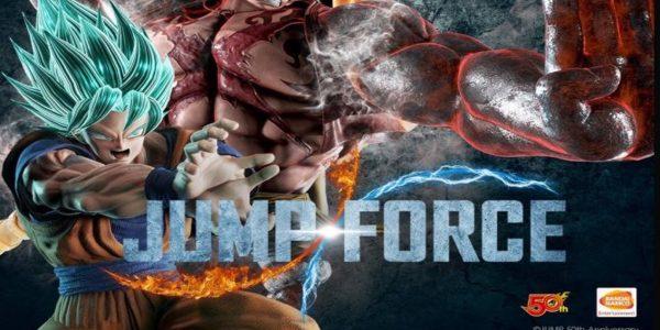 Jump Force Goku Super Saiyan Blue