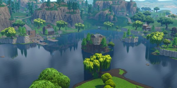 FORTNITE CUBE WATCH: The cube has entered Loot Lake