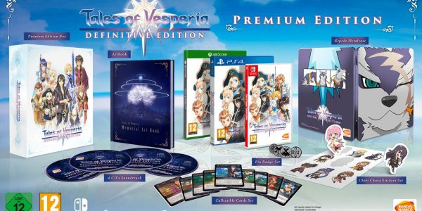 Tales of Vesperia Definitive Edition: Collector's Edition