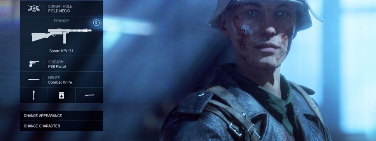 The Battlefield 5 Medic is Still Vital Despite All Soldiers Gaining the Ability to Revive