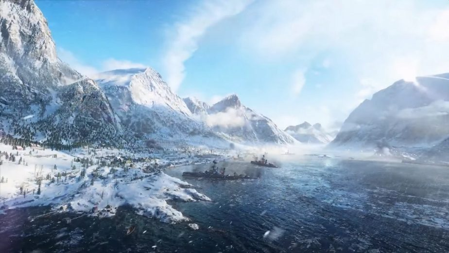 The Battlefield 5 Narvik Map Takes Place in a Norwegian Fjord