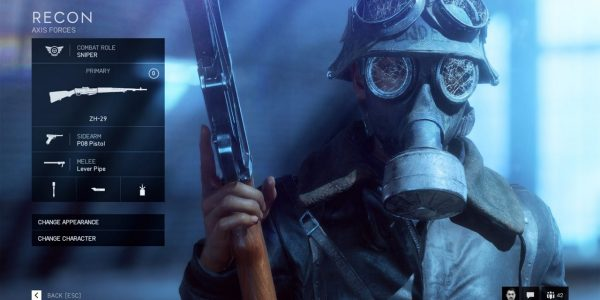 The Battlefield 5 Recon Class is Suited to Sniping and Spotting