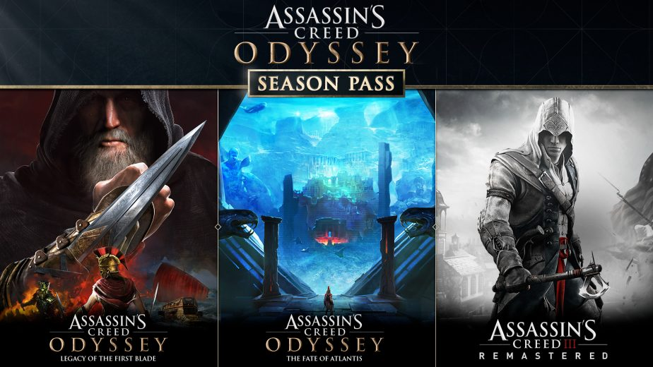 The Assassin's Creed Odyssey season pass.