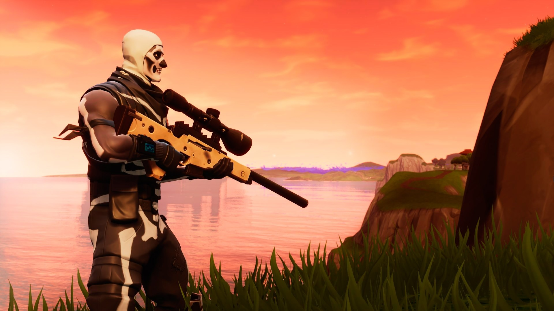 Image Result For Fortnite Skull Trooper Fortnite T