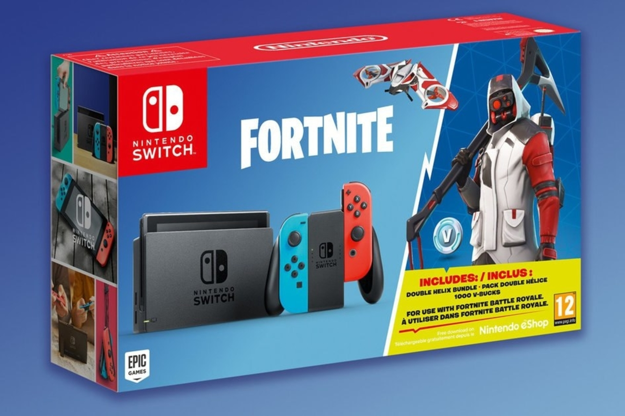 Fortnite Nintendo Switch Double Helix Bundle Announced