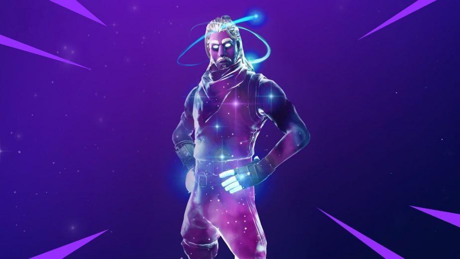 Galaxy Fortnite skin