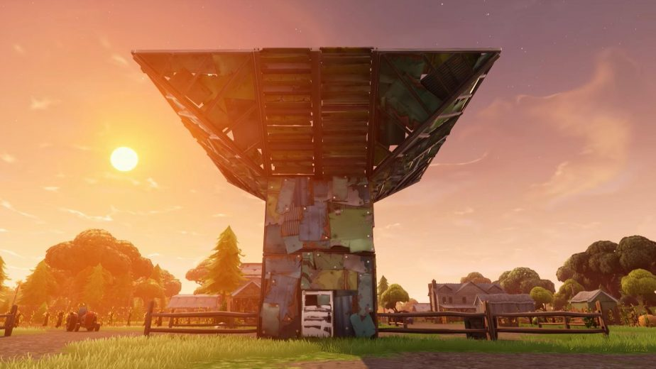 First in-game footage of Fortnite's new Spiky Stadium