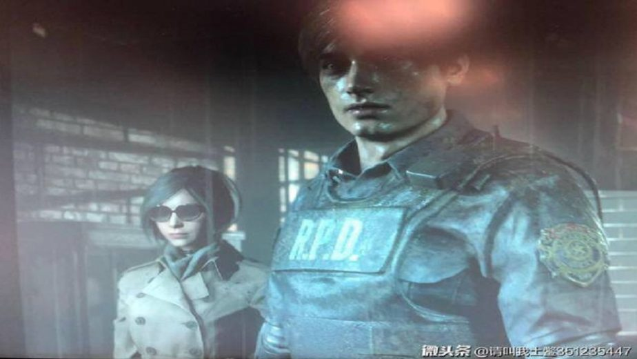 A Leaked Resident Evil 2 Remake Image Gives Fans Their First