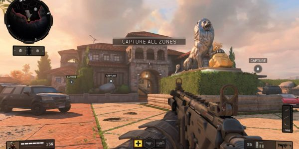 "Call of Duty: Black Ops 4's ""Hacienda"" map is set on the grounds of a sprawling mansion."