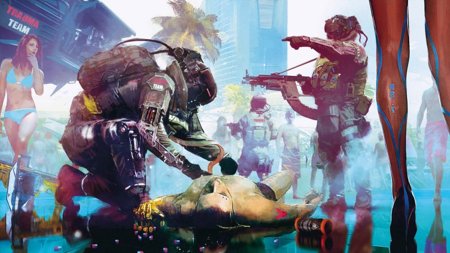 Cyberpunk 2077 Night City Police Have Yet to be Shown in a Significant Capacity