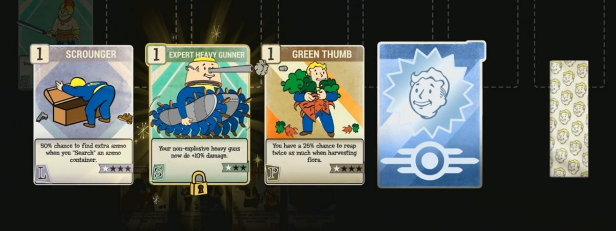 Fallout 76 Perk Cards Will Come in Packs