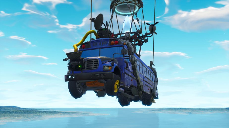 The Fortnite battle bus has received a major update