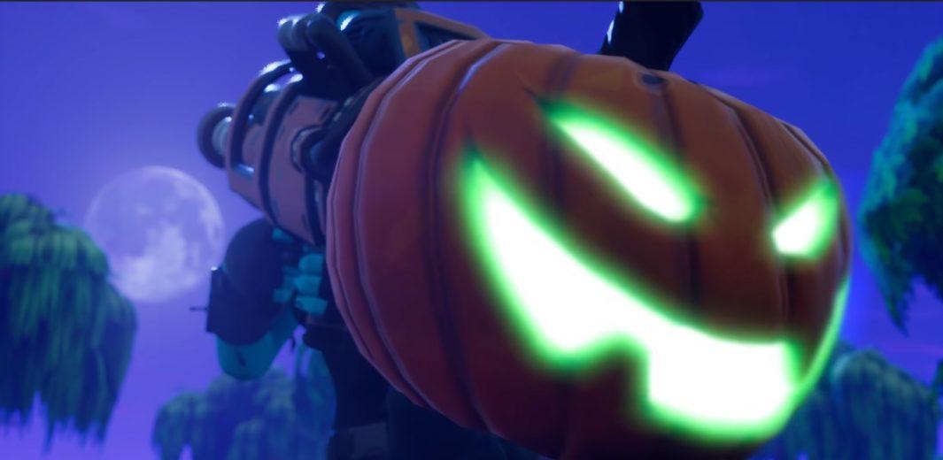 The Pumpkin Launcher was a season 1 Fortnite weapon