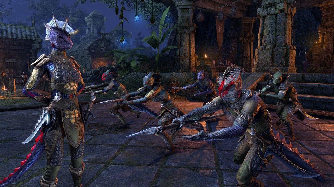 Bethesda Previews Naga Hero Jaxsik-Orrn From ESO's Murkmire DLC