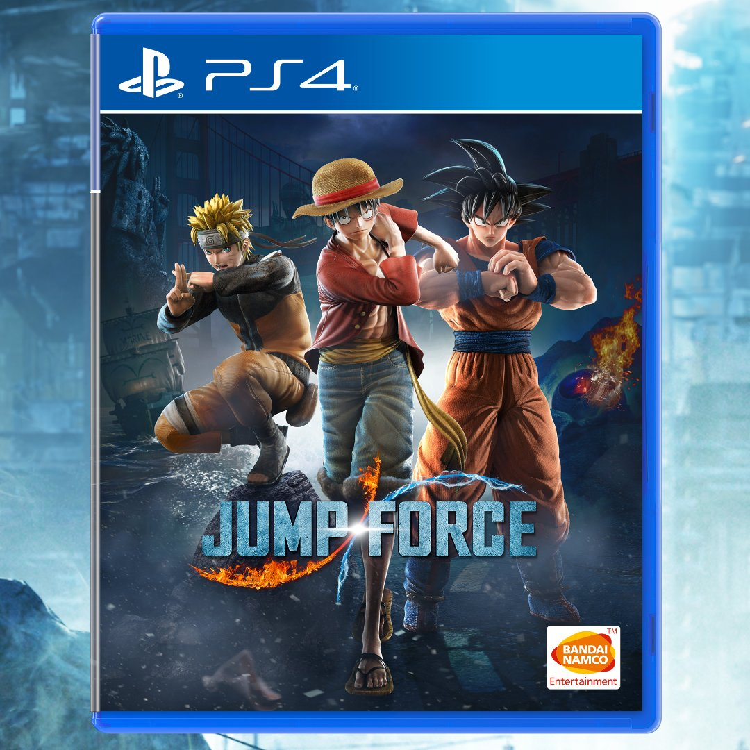 My Version Of Why You Re A Great Catch I Scored With: Jump Force Box Art Shows Off Naruto, Luffy And Goku