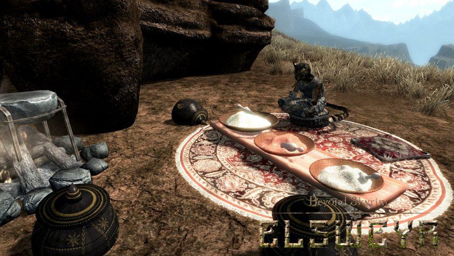The Beyond Skyrim Elsweyr Mod is Making Progress