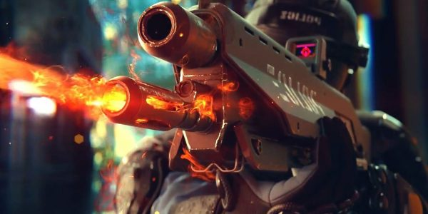 The Cyberpunk 2077 Night City Police Won't be Pushovers