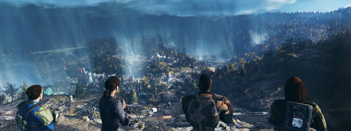 The Fallout 76 Map is Four Times the Size of Fallout 4