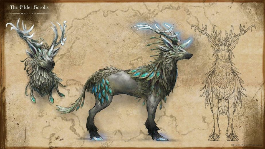 The Indrik Already Exists in the Game But Not as a Mount