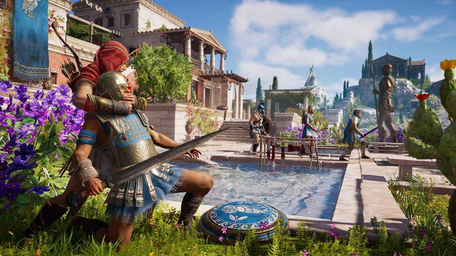 Assassin's Creed Odyssey will be streamed through Google's Project Stream platform.