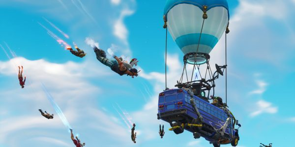 The Fortnite battle bus is now moving much faster