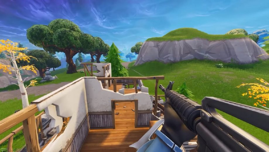 Fortnite's First-Person Mode