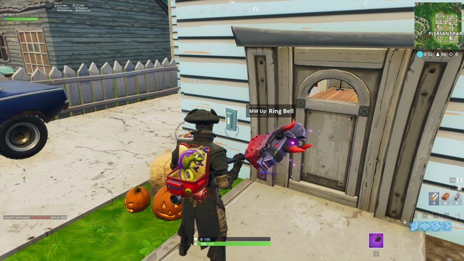 To ring doorbells and complete the challenge, an enemy will have to be inside the house