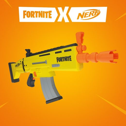 Nerf and Epic have teamed up to bring a Scar Blaster