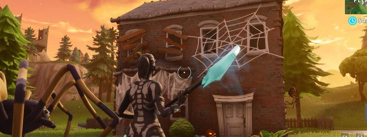 The week 4 Fortnite challenge ask of players to ring doorbells