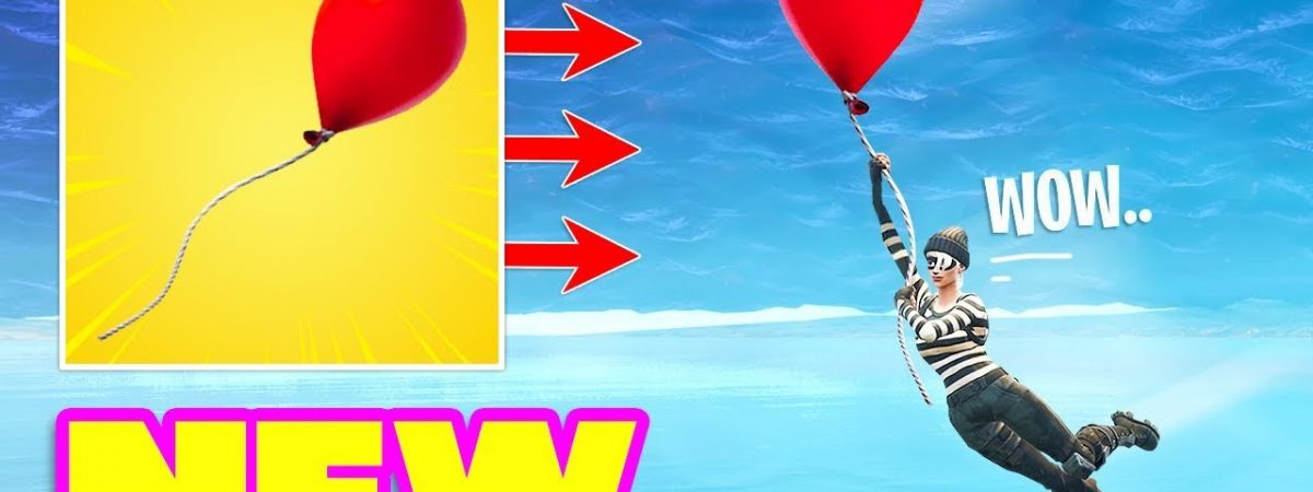 Epic Games is adding balloons to Fortnite Battle Royale