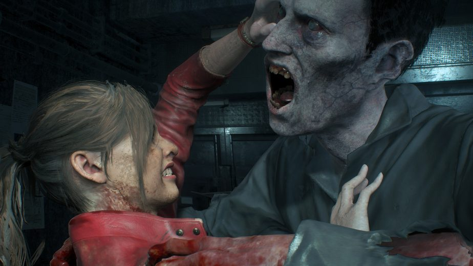 The Resident Evil 2 remake's zombies will be quite frightening.