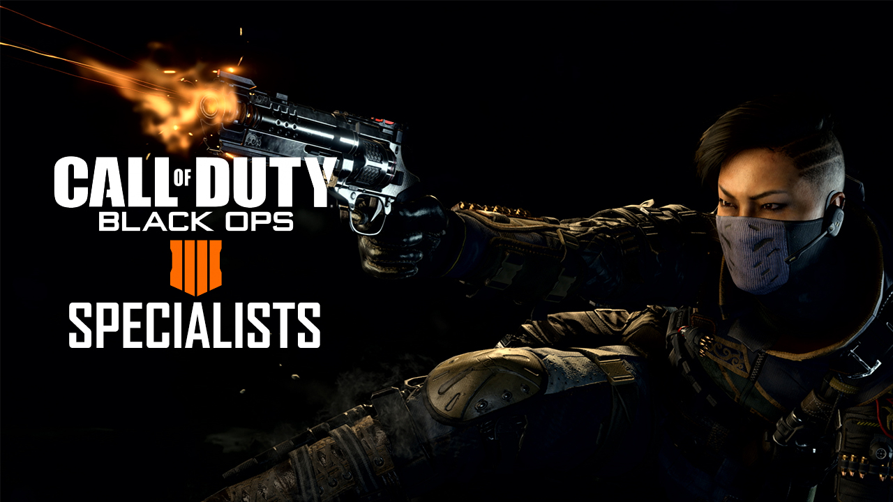 All Call Of Duty Black Ops 4 Specialists And Abilities Overview And Abilities