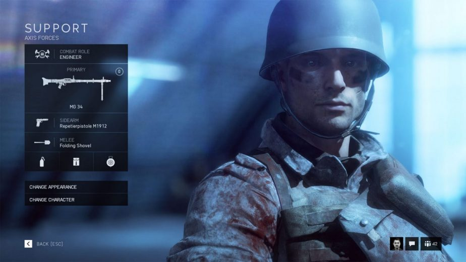 Battlefield 5 Weapons Are Restricted by Class
