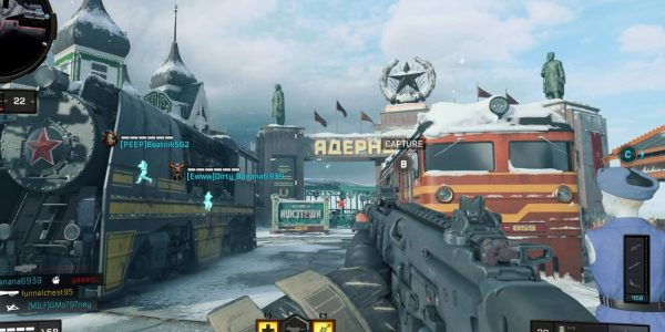 "Call of Duty: Black Ops 4: Fan favorite ""Nuketown"" is back and redder than ever."