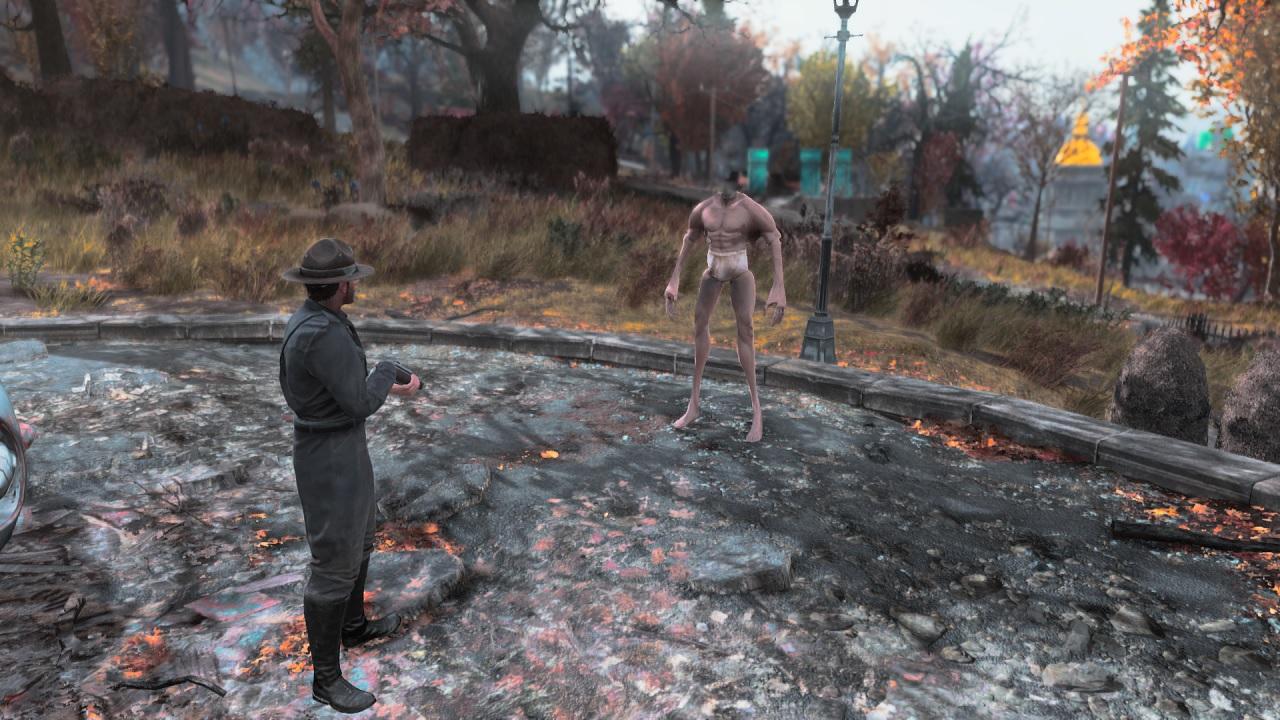Fallout 76 Power Armour Bug Turns Players Into Creepy ...