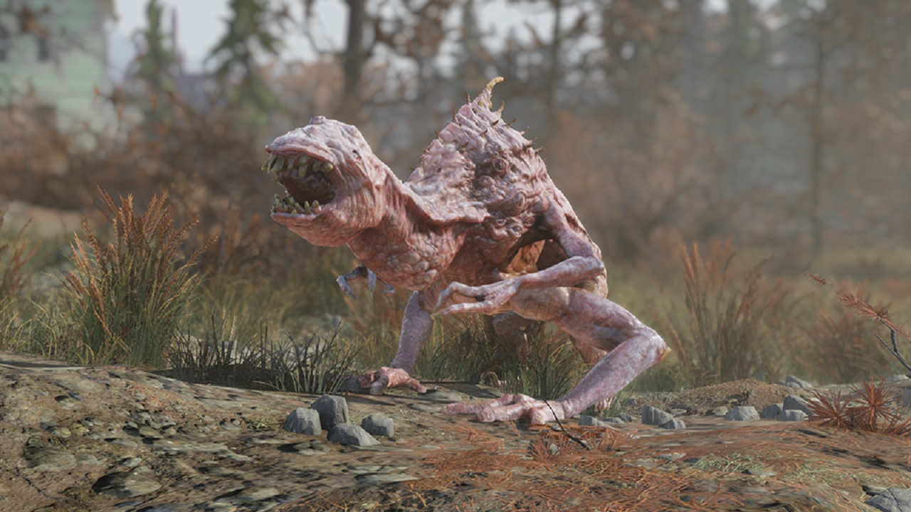 Fallout 76 Creatures: Bethesda Tells Tales of the Snallygaster