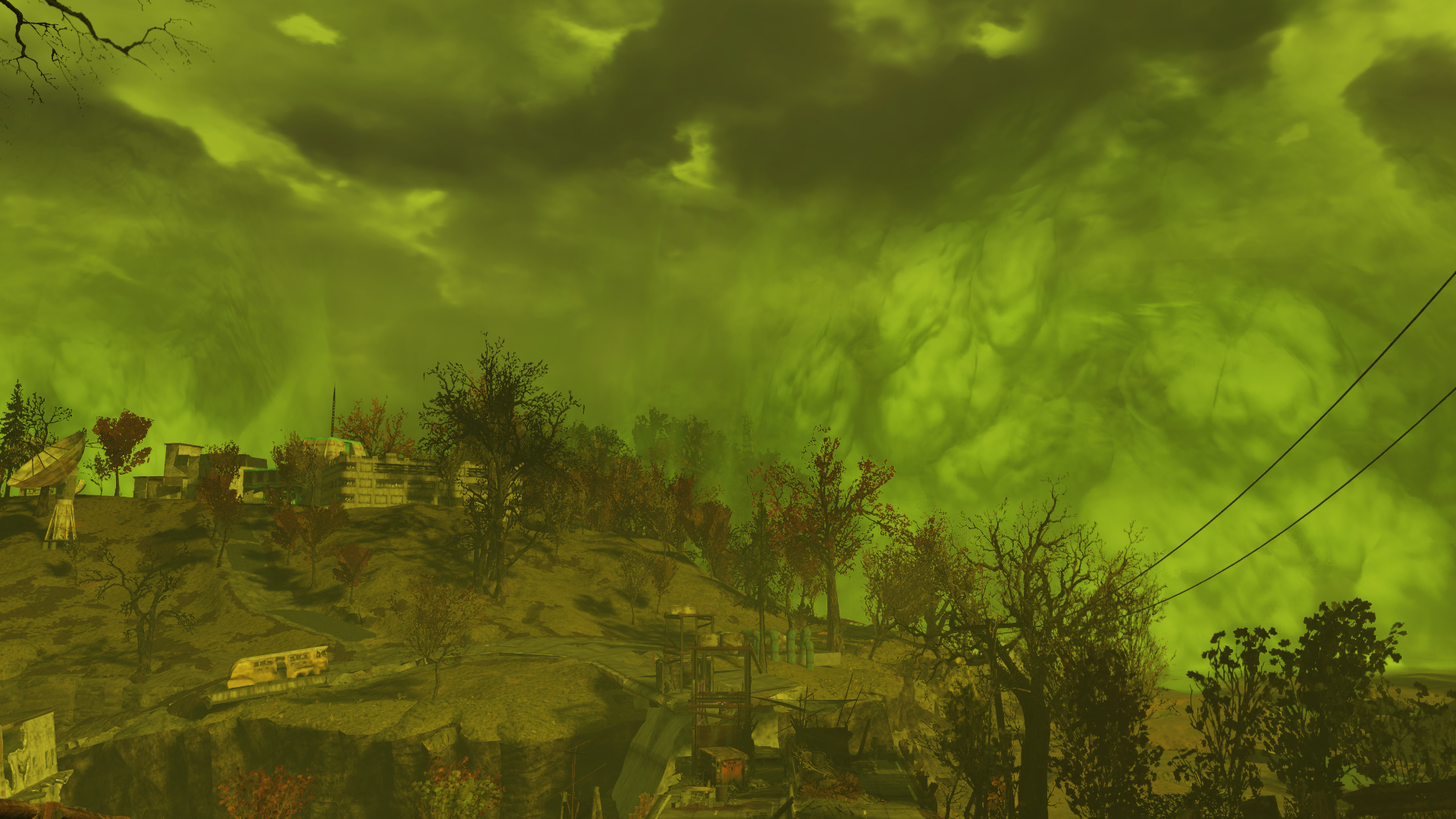 The beautiful wasteland of Fallout 76
