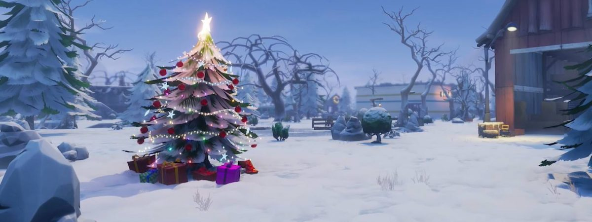 Right in time for the holiday season, we might be getting snow in Fortnite.