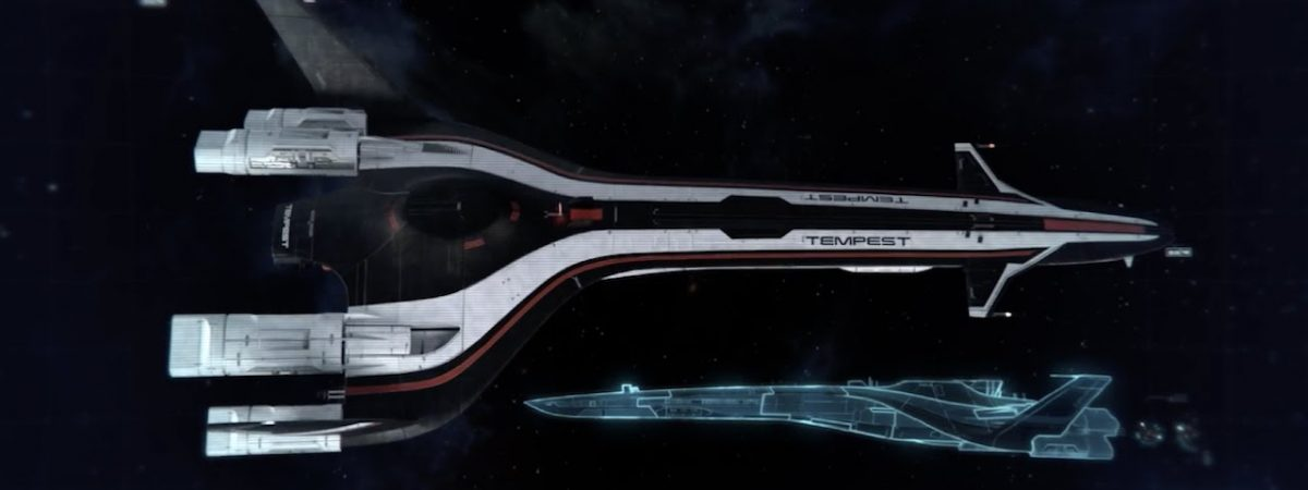 Mass Effect Tempest Collectible