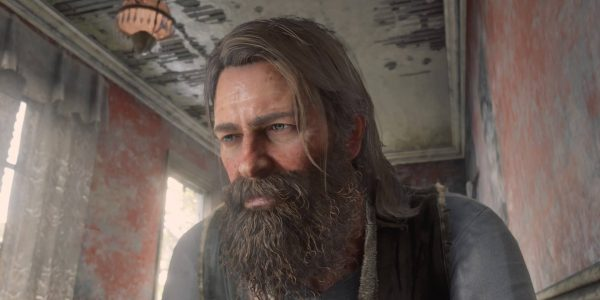 Red Dead Redemption 2: Arthur becomes a wild creature with a little Hair Tonic.