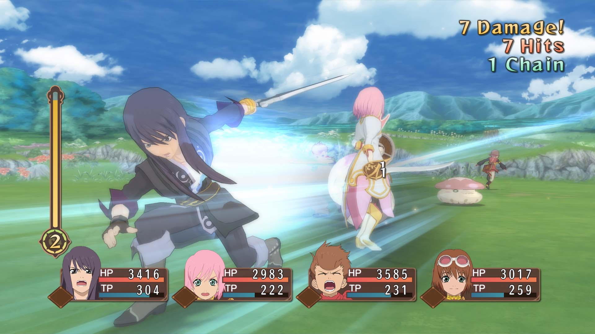 New Tales of Vesperia Combat