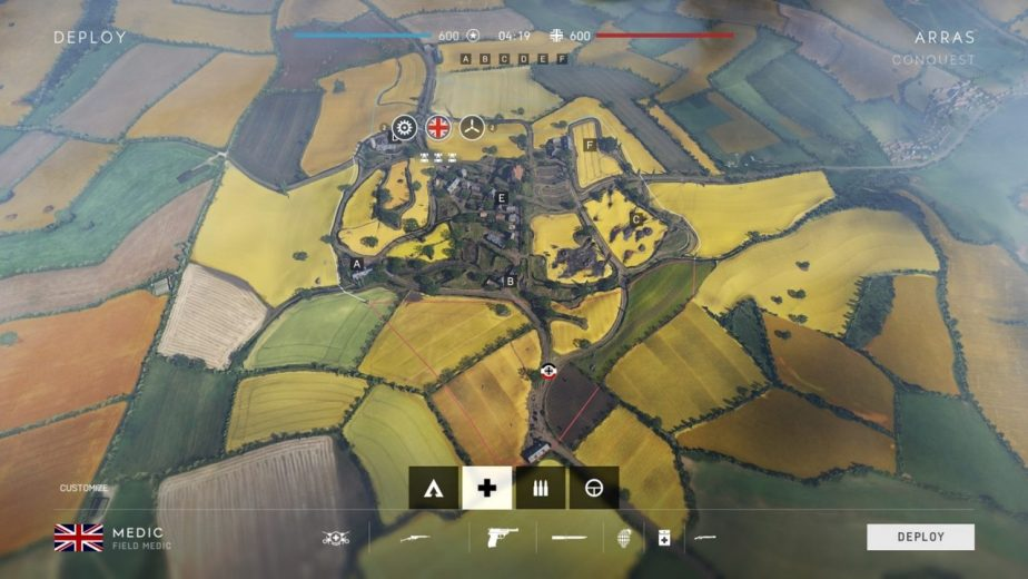 The Battlefield 5 Arras Map is a Medium-Large Map in France