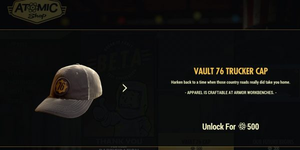 The Fallout 76 Atomic Shop: What Can Players Buy?