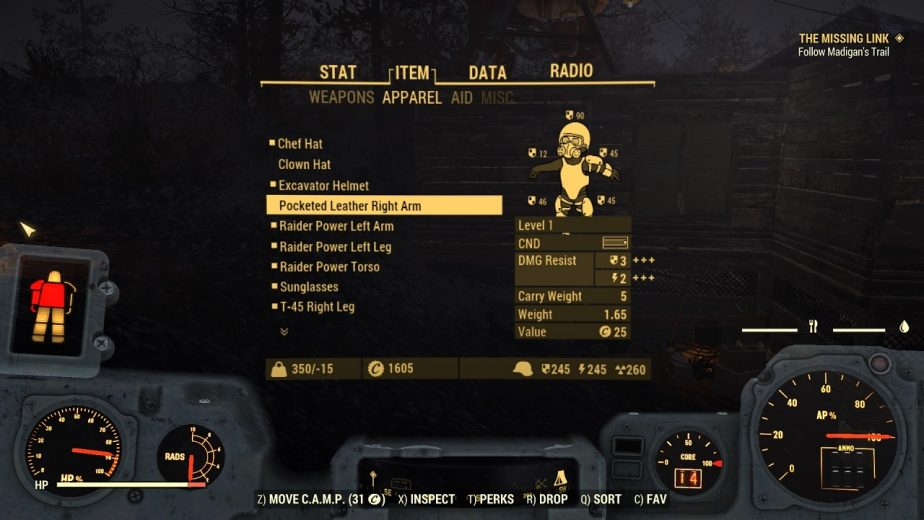 Fallout 76 Bug Gives Players Unlimited Carrying Capacity