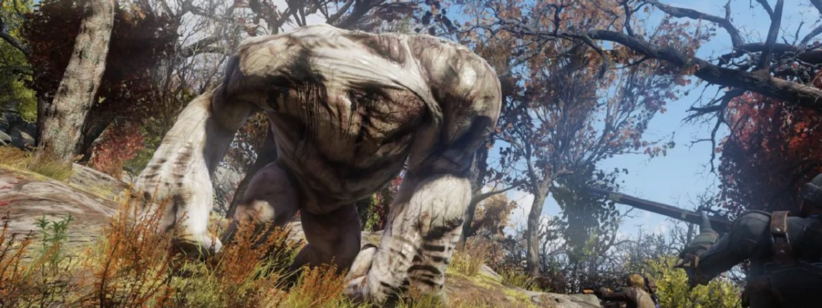 The Grafton Monster is One of the New Fallout 76 Creatures