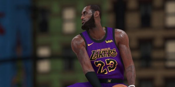 NBA 2K19 City Jerseys  Lakers  LeBron James f14c85b07