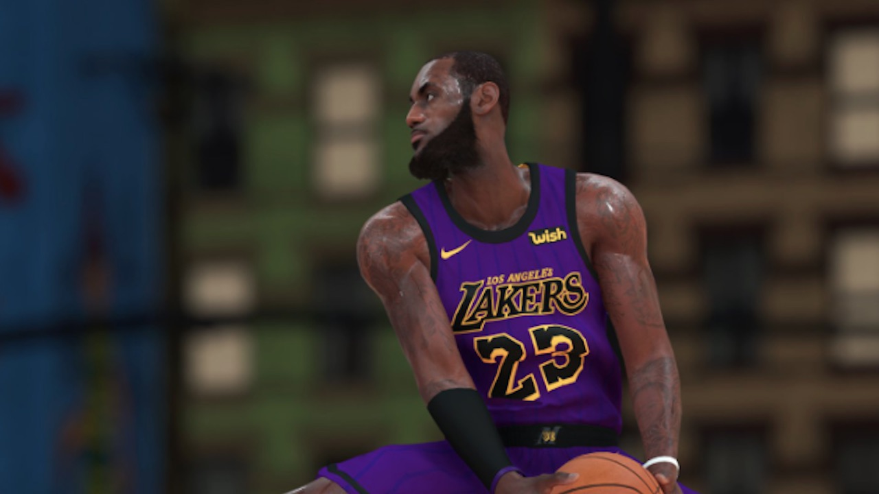 brand new 3420c 09135 NBA 2K19 City Jerseys: Lakers' LeBron James, Pelicans ...