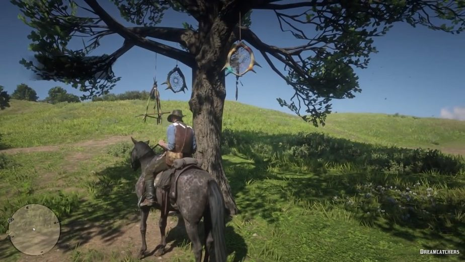 Red Dead Redemption 2's Dreamcatchers are oftentimes easy to spot.