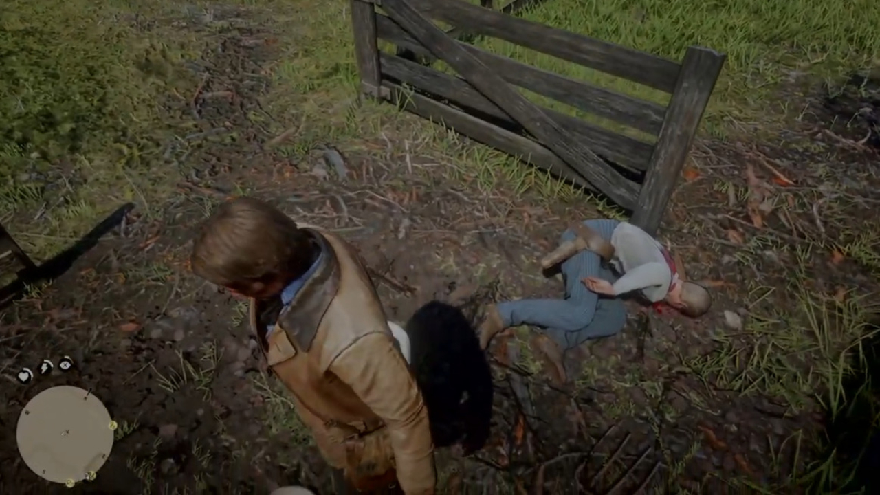 Killing Red Dead Redemption 2 KKK Members Rewards Players